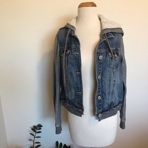 American Eagle Denim/Sweater Jacket
